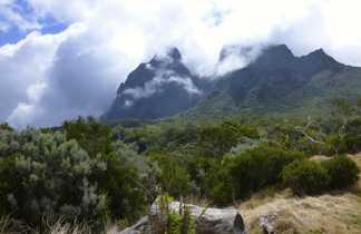 Paysage randonnée à la Réunion