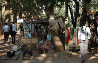 Petit marché des haut plateaux éthiopien