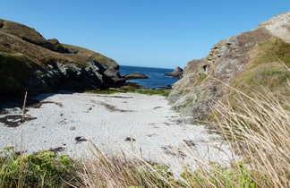 petite plage sauvage de belle île