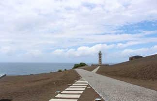 Phare du volcan Capelinhos de Faial, Açores