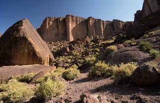 Pics basaltiques du Saghro, Maroc