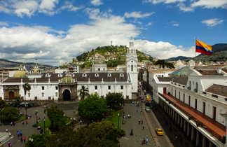 Place de l'indépendance à Quito