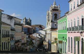Place principale du Pelourinho à Salavador