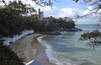 Plage de l'Anse Rouge à Noirmoutier