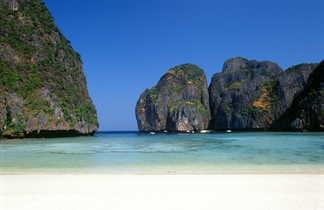 Plage du sud de la Thaïlande