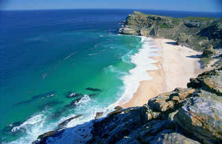 Plage et océan en Afrique du Sud