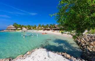 Plage paradisiaque de l'île de Múcura