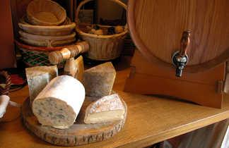 Plateau de fromage du Massif Central