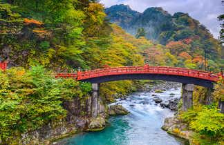 Pont dans le parc national de Nikkō