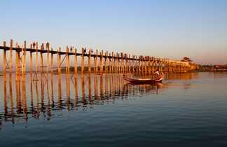 Pont d'U bein à Amarapura