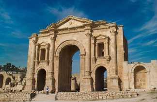 Portique d'entrée à Jérash, Jordanie