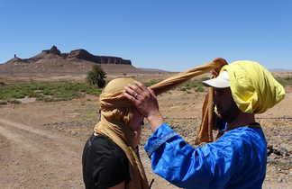 Pose du cheich, Maroc