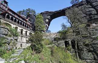 Pracvcicka Brana, la plus grande arche de grès d'Europe, Republique Tchèque