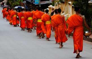 Procession des moines
