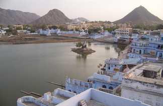 Pushkar et son lac sacré, Rajasthan