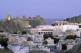 Quartier de Mutrah, Mascate, Oman