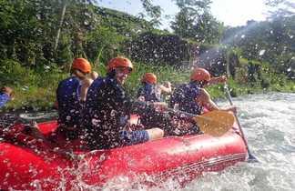 Rafting, Bali, Indonésie