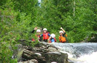 Rafting avec des enfants au Québec