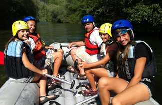 Croatie, Markarska, rivière Cetina, rafting