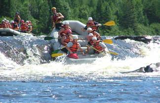 Rafting sur la rivière Mattawin