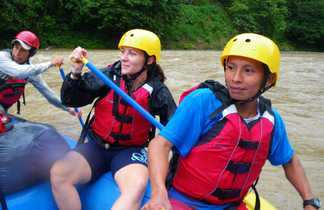 rafting sur le rio Pacuare