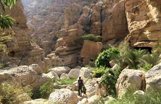 Rando canyon, Oman