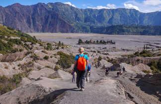 Randonné au volcan Bromo sur l'île de Java