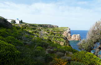 Randonnée à Sifnos, sentier côtier