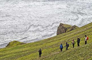 Photo de randonneurs à Skaftafell