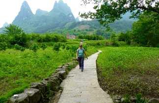 Randonnée à Xingping
