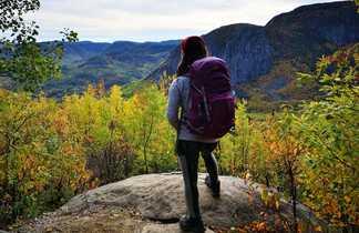 Randonnée au Québec l'automne