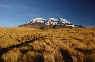 Randonnée aux abords du volcan Chimborazo