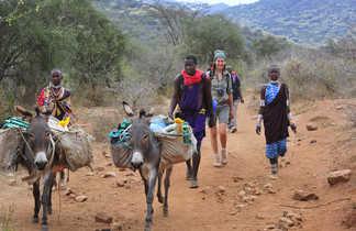 Randonnée avec les Masaï et les ânes