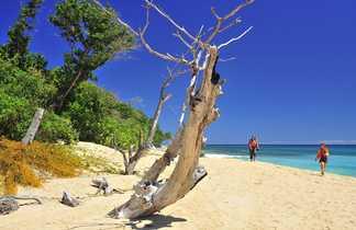 Randonnée côtière à Madagascar
