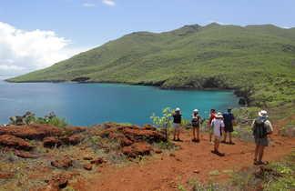 Randonnée côtière aux îles Galápagos, Equateur