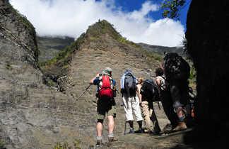 Randonnée dans le Cirque de Mafate, la Réunion