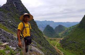 Randonnée dans le parc géologique de Dong Van
