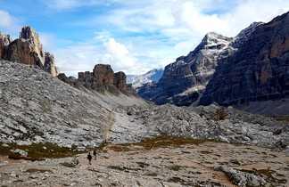 Randonnée dans les Dolomites