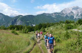 randonnée entre Theth et Valbona
