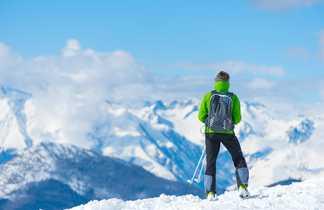 Randonnée glaciaire dans les Alpes