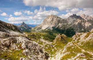 Randonnée Lagazuoi Dolomites