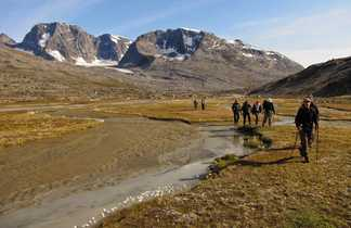 Randonnée sur la côte est du Groenland