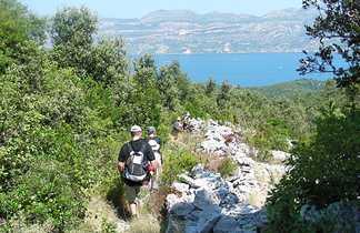 Randonnée sur la presqu'île de Peljesac, Côte dalmate, Croatie