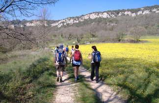 Randonnée sur les chemins du Luberon, Lourmarin