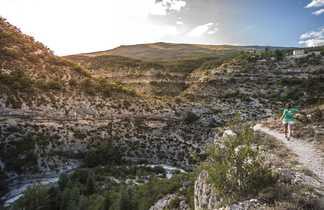 Randonnée sur les hauteurs des gorges du Verdon