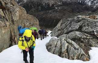 Randonnée sur les hauteurs d'Ushuaia, en Terre de Feu, Patagonie argentine