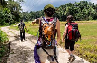 Randonneurs-dans-la-campagne-sri-lankaise