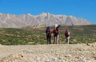Randonneurs dans le massif de Zagros