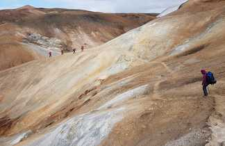 randonneurs en Islande
