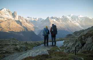 Randonneurs  Tour du Mont-Blanc